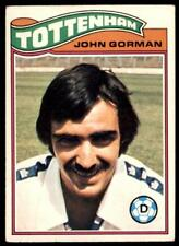 Topps Footballers 1978 Orange (B1) John Gorman Tottenham Hotspur No. 231