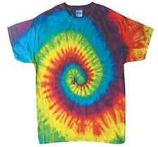 Colorful Tie Dye T-Shirts  Kids & Adult Hand dyed Cotton Colortone