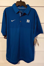 NWT NIKE On Field Apparel Duke University Dri-fit Polo Shirt Medium