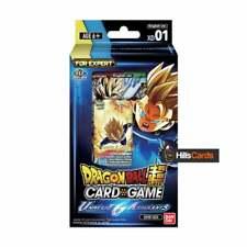 Dragon Ball Super Card Game Universe 6 Assailants Expert Deck - XD01 Z TCG