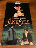 Jane Eyre VHS VCR Video Tape Movie Zelah Clarke, Timothy Dalton Used