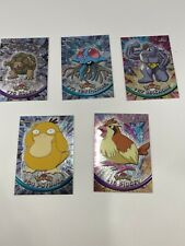 Topps Chrome Pokemon 2000 TV Animation Edition Lot Of 5