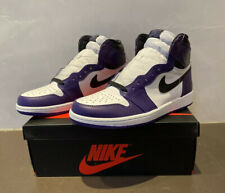 Jordan 1 Retro High OG Court Purple 2.0 Men's US Size 8 555088-500 Nike Air