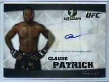 2010 UFC Knockout Claude Patrick 1st Autograph /188 (Box DP)