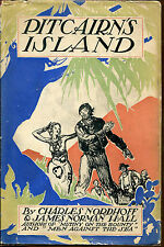 Pitcairn's Island by Nordhoff & Hall-First Edition/DJ-1934-Bounty Trilogy