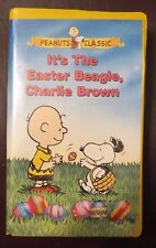 It'S The Easter Beagle Charlie Brown~Vhs, 1997~Peanuts Classic~Clamshell~1+ Ship