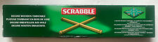 Scrabble Deluxe Wooden Turntable by Tinderbox Games - NEW UNUSED OPEN-BOX