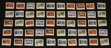 50 Canada Post P-Stamps Uncancelled Off Paper No Gum. Value $42.50 (Scenery)
