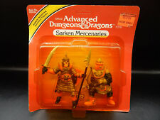 MOC 1982 tsr SARKEN MERCENARIES Advanced Dungeons & Dragons PVC figure set LJN !