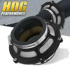 """Universal Black Bypass Valve Cold Air Intake Performance 2.75"""" / 70mm + Clamp"""