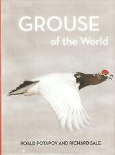 POTAPOV ROALD BIRD BOOK GROUSE OF THE WORLD hardback BARGAIN new
