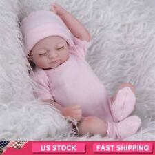 Realistic Reborn Baby Dolls Full Body Vinyl Silicone Girl Doll Newborn Bath 11