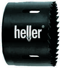 Heller 83mm HSS Holesaw Bi-Metal Hole Saw Cutter - High Quality German Tools
