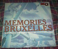 vinyl lp MEMORIES AUX BRUXELLES Official Music of The 1958 Brussels World Fair