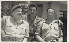 Bill John & Mark Canadian Army Soldiers somewhere in the world 1950-60s RPPC