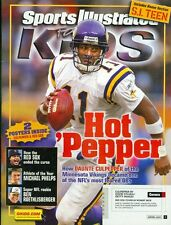2005 Sports Illustrated for Kids w/Cards: Daunte Culpepper Minnesota Vikings