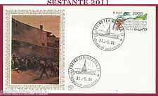 ITALIA FDC FILAGRANO GIORNATA MARTIRI CADUTI PER L'INDIPENDENZA 1986 TORINO Y439
