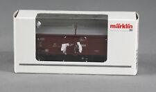Märklin 00769-16 [pista h0 ~] schiebedachwagen tes-t-58 kmmgks mercancía nueva