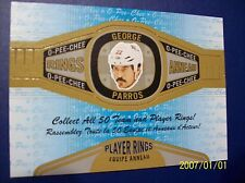 """2013-14 O-Pee-Chee """"Rings"""" # R-42 George Parros (Player) Ring!"""