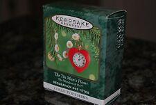 2000 Hallmark Tin Man's Heart Wizard of Oz Miniature Mini Xmas Keepsake Ornament
