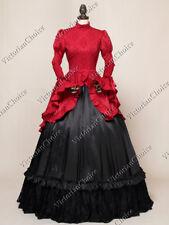 Victorian Edwardian Gothic Downton Abbey Dress Reenactment Theater N 324 L