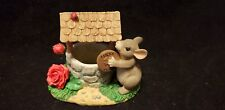 """Charming Tails """"Wishing You Well (Charity)"""" Fitz And Floyd W/Box 98/930"""
