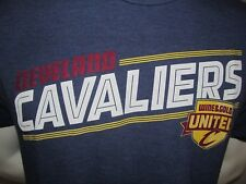 Used 2010s Wine & Gold United Cleveland Cavaliers Screened T-Shirt Large SOFT