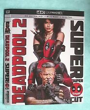 DEADPOOL 2, DIE HARD, DESPICABLE ME, DUNKIRK, DARKEST HOUR 4K Blu ray slipcover