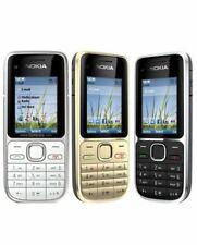 Nokia C2-01 Mobile Phone Black Silver 3G Bluetooth Camera With UK Plug Unlocked