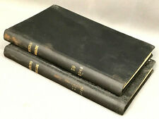 New listing 1944 Wwii-Era The Mining Magazine Bound 2 Vol. London Vtg Mining Memorabilia Smt