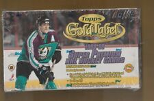1998-99 Topps Gold Label Unopened Hockey Box Sealed Original Stock HTA Box