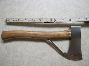 """A. G. Russell Safety Axe 10 1/2"""" Long 4 1/2"""" Blade Solingen Germany"""