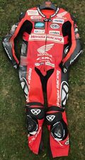 JASON O'HALLORAN RACE WORN AND SIGNED LEATHERS BRITISH SUPERBIKES BSB 2015.