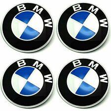 AUFKLEBER für BMW Felgendeckel EMBLEME Radkappen Nabendeckel  4 x 70 mm NEU