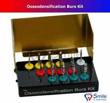 13 PCS Bur Drills Dental Implant Kit Surgical Parallel Wall Expander Hex German