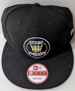 Tupac 2pac Trust Nobody Hat Snapback Cap Cotton Black Original New Era