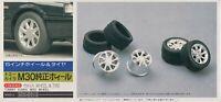 Fujimi 1:24 Tommy Kaira M30 15inch Wheel & Tire Set - Model Accessory #19175