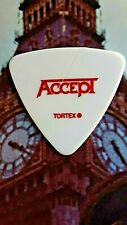 ACCEPT Wolf Hoffman 2010 Blood Of the Nations Tour guitar pick