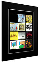 MOUNTED / FRAMED PRINT GENESIS DISCOGRAPHY - 3 SIZES SUPERB GIFT POSTER ARTWORK
