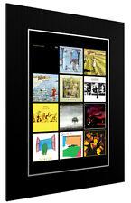 More details for mounted / framed print genesis discography - 3 sizes superb gift poster artwork
