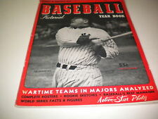 1944 BASEBALL YEARBOOK PICTORIAL !!