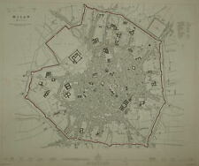 MILAN  FOR THE SDUK. CIRCA 1844.