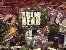 Walking Dead Season 2 Hard Sleeved Trading Cards Perfect Cond Pick One