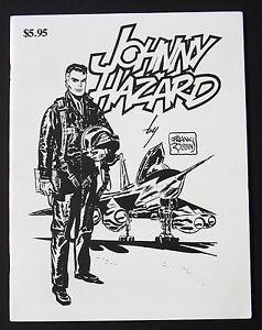 Comic Art Showcase #7 1981 VF/NM 1st Print  Johnny Hazard by Frank Robbins