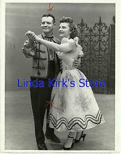 "Carolyn DeZurik & Bruno Zielinski Promo Photograph ""It's Polka Time"" ABC-TV 1956"