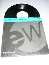 "B-TRIBE - You won't see me cry - UK 5-track 12"" DJ PROMO Single"
