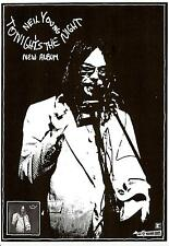NEIL YOUNG POSTER. Tonights the Night.