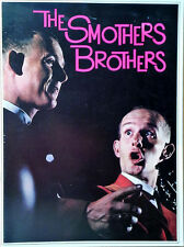 """THE SMOTHERS BROTHERS - 16 PAGE TOURBOOK / PROGRAM - 9"""" X 12"""" - EARLY 1960'S"""