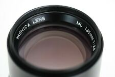 YASHICA ML 135mm f2,8 - Contax-Yashica lens made in Japan