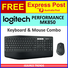 Logitech MK850 Perfomance Wireless Keyboard Mouse Combo USB